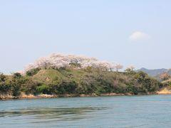 村上水軍の一派である能島村上氏の居城能島城が築かれた島『能島』