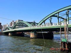 そして厩橋、1929年9月竣工、長さは151.4mあります。 https://www.city.sumida.lg.jp/bunka_kanko/skytree_seityouki/machinaka/umayabashi/index.html