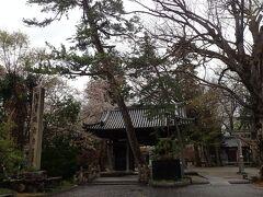 まずはここ、向源寺の…