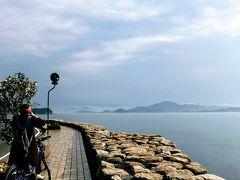 帰り道の海岸線。 瀬戸内海の綺麗さに感動! 16:30までにレンタサイクルを返さねばなので急いで帰宅。 電動自転車ありがとう。