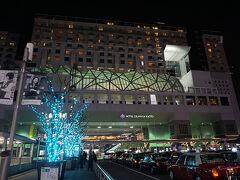 ●ホテルグランヴィア京都@JR京都駅  駅に隣接するホテル。 たまにビュッフェでおじゃましています。