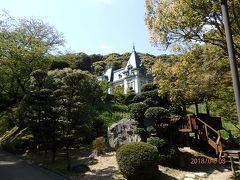大正時代に元城主の久松氏が建てた愛媛の迎賓館「萬翠荘」。