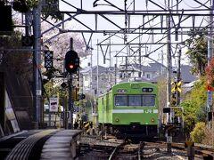 やって来ましたのはJR藤森駅