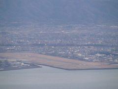ANA589便 羽田-松山(機内) 松山空港