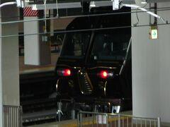 博多駅在来線ホームにはななつ星が停まっていました