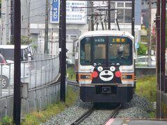 試合後は熊本電鉄に乗車をしに・・ 銀座線がパンタグラフを付けられ魔改造され第二の人生?を歩んでいます