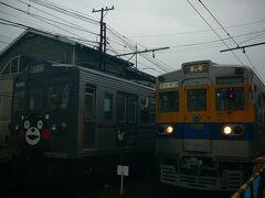 元都営三田線も東南アジア風にカラーリングされ第二の人生を送っています