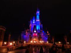 夜のシンデレラ城はやっぱり素敵です♪