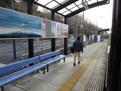 夕方の下り電車、学生はいなかった。