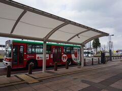 筑後船小屋駅前に到着。開業時はそれこそ周辺に「何もない」駅でしたが、開業7年でずいぶん変わった周辺を観察です。