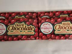 最後の荷造りをします。 ハーバード大学生協で買ったベリー入りチョコ。帰国して食べましたが、 ナッツとベリーが入っていて、美味しかったです。