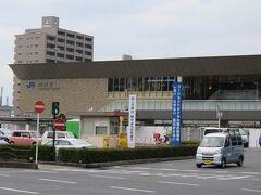 錦帯橋から岩国駅まで歩いて来ました。  これは、自分の完全なリサーチ不足で、 そんなに距離がなくて、歩けるかと 思って歩き始めましたが、全然駅に 着かなくて、結局40分程歩いて 駅に着きました。