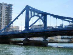 隅田川クルーズ1/3 浅草⇒勝鬨橋付近 40/    32  清洲橋