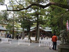 """おはらい町を後にして、猿田彦神社へやって来ました。 御祭神は猿田彦大神です。 人々を善い方に導き、世の中の行方を開く""""啓行""""の神様だそうです。"""