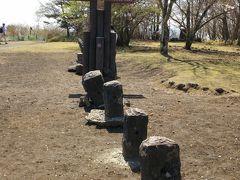 バスの時間まではもうちょっとあるので、見晴台まで足を伸ばします   ここも県境の石が!!!つまり今私は群馬県!?