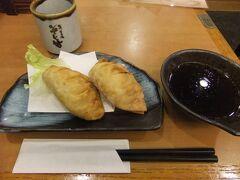 津名物の「津ぎょうざ」、学校給食から始まった15cmの餃子です。