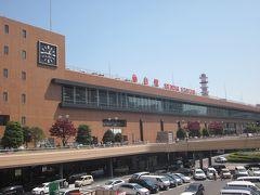 4/23(月) 作並温泉からJR仙山線で仙台まで戻って来ました。  毎日仙台駅に来てますが本当に人が多いのですね!、地方に来ているとは思えないです。  では、駅前の市営バス乗り場へ向かいます。