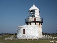 能登半島の最北端。禄剛崎灯台。明治16年に作られた灯台。