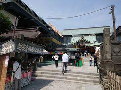大本山成田山新勝寺 東京別院  参拝者はまばらで... 境内は広いです  入って右手には、御朱印を受ける場所やお守りを頂ける場所がありました。 今回は、ついで参りのようになってしまったので御朱印は頂かず...