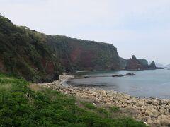 金光寺からイッキに海まで下ります。気持ちいい(^-^)/  【明屋海岸】