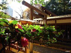 正松神社にもお参り。