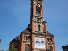 Johanneskirche(ヨハネス教会)  プロテスタントの教会です。