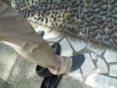 昨晩は、足満足の先生に足をもんでもらいましたが、健康歩道は歩け・・・・。