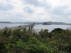 角島大橋を渡って 瀬崎陽の公園より