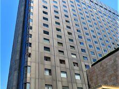 出口の前には帝国ホテル(https://www.imperialhotel.co.jp/j/index.html)