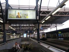 ブリュッセル南駅に到着