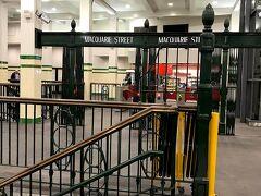 なんかこの駅おしゃれ! セントジェームズ駅から電車に乗って、 サーキュラーキーへ行きました。