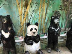 現地ツアー500円でクインシーの滝と熊を保護してうrとこに行きます。 予想通りしょぼい滝。 なにもないラオスなので現地ツアーにでも行かないとやってられない。