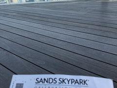 サンズスカイパーク、屋上だ