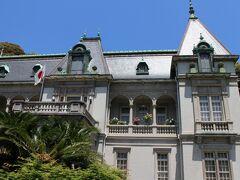 大正12年の建築。フランス風の洋館で、平成23年には国の重要文化財に指定された。 館内の見学は可能、施設を利用した各種展覧会などが開催される。