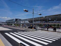 神戸・三宮からリムジンバスに乗って40分  渋滞も無く、定刻通り大阪国際空港に到着