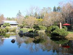 日本庭園から