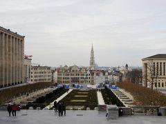 場所が代わってブリュッセル  芸術の丘