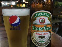 お肌10歳若返った~(当社比) サウナ上がりビール、ぷはーっ。