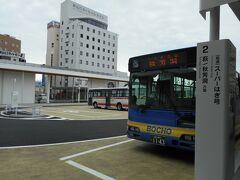 京都発7:43→新山口着9:52の のぞみに乗ると、 新山口発秋芳洞行き10:05のバスに間に合います。 このバスを逃すと、12:00まで無いので注意です!