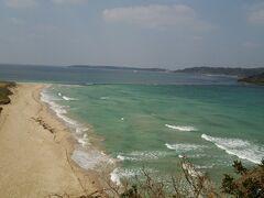 角島の海水浴場です。 ここで海水浴なんて素敵だーー!!