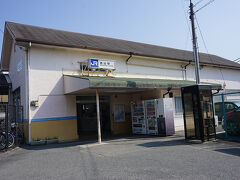 ●JR桃山駅  この辺りは、近鉄、京阪、そしてJRと駅が密集している地域です。