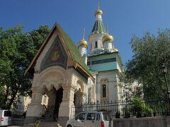 1時間ほど掛けて見学した後は、同じトラムに乗って中心部に帰還。 続いて訪問したのは聖ニコライ聖堂。こちらはロシア正教会の教会。