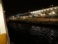 週末は横浜大桟橋へ寄港 竹芝~大桟橋のナイトクルージングもいい、上り便は人気クルーズになってるな 東海汽船は商売上手い