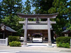 予定より1時間押しで八重垣神社に到着