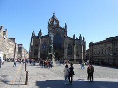 St Giles' Cathedral Royal mileを下った先の広場にあった大聖堂に行ってみました。