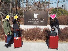 ホテルに到着ー!!  前回JWマリオットマカオに泊まっておいしい思いをしたので 再度JWマリオットで予約しました。  おいしい思いとは、前回のマカオ旅行記前編をご覧くださいませ。