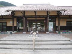 石見銀山世界遺産センターへ到着、ここで大久保間歩見学バスツアーに勧誘されました。