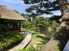 なかなか美しい庭園でした。次は飯盛山へ。
