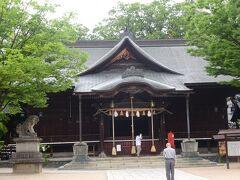 四柱神社(本殿)(縁結びや安産にご利益があります。)