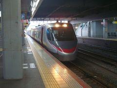5月31日 08:19 ■しおかぜ3号(8000系電車)■ 瀬戸大橋を特急で渡るのは初めてです。